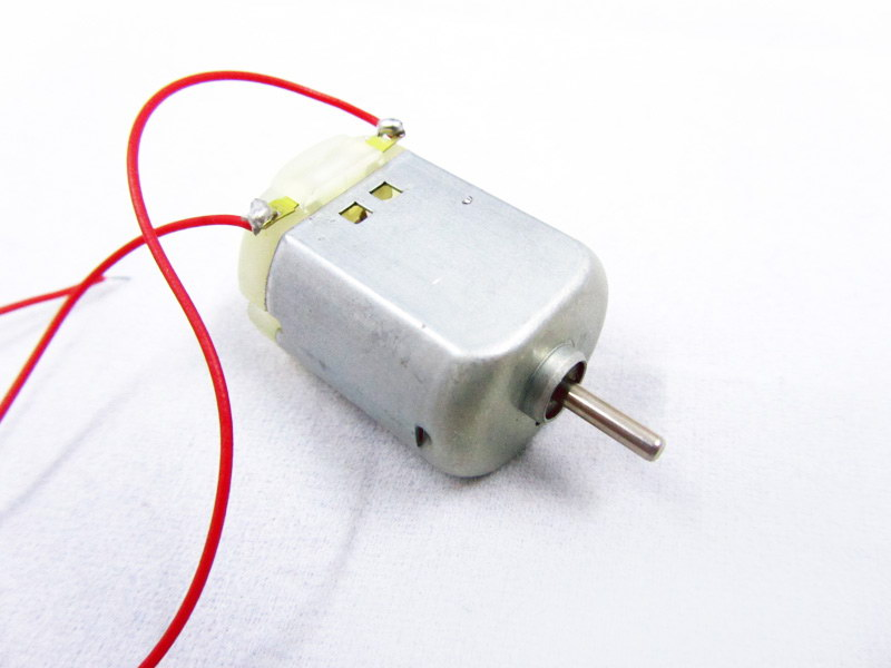 Retired 130 dc electric mini motor electrodragon for Small dc electric motor
