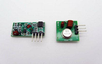 433M RF wireless module a pair of receiver and transmitter