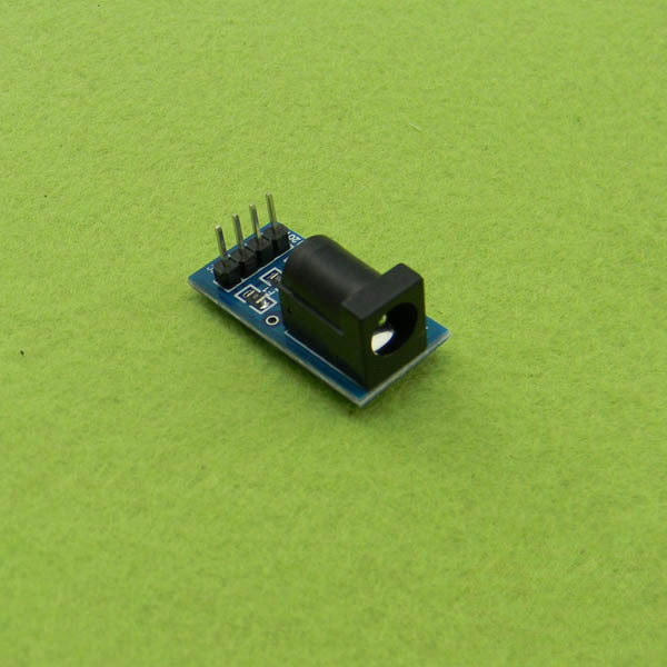 5.5mm DC Power Jack to Breadboard Pins Convert Board