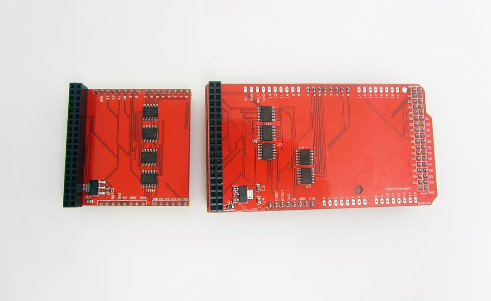 RGB LCD Shield Kit w/ 16x2 Character Display - Only 2 pins
