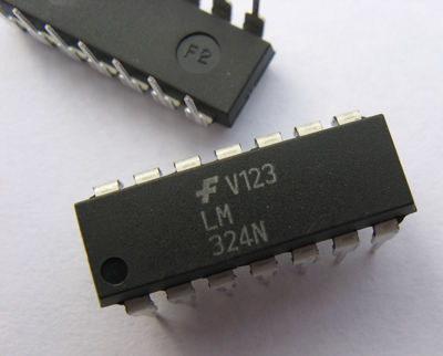 LM324 (LM324N 324N LM 324) Quad Op Amp 14-DIP
