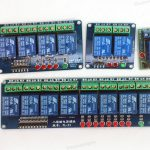 Relay Module, wStatus LEDs (Variable Number of Channels)
