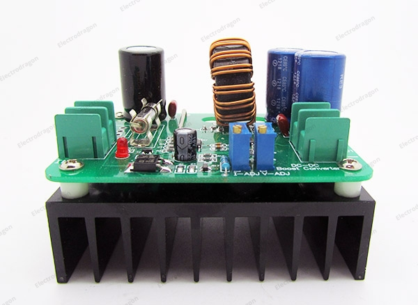 600W DC-DC Step-Up Module 10-60V to 12-80V 2