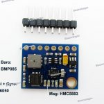 EY88 10DOF Motion Sensor (Accel+Gyro+Baro+Mag)