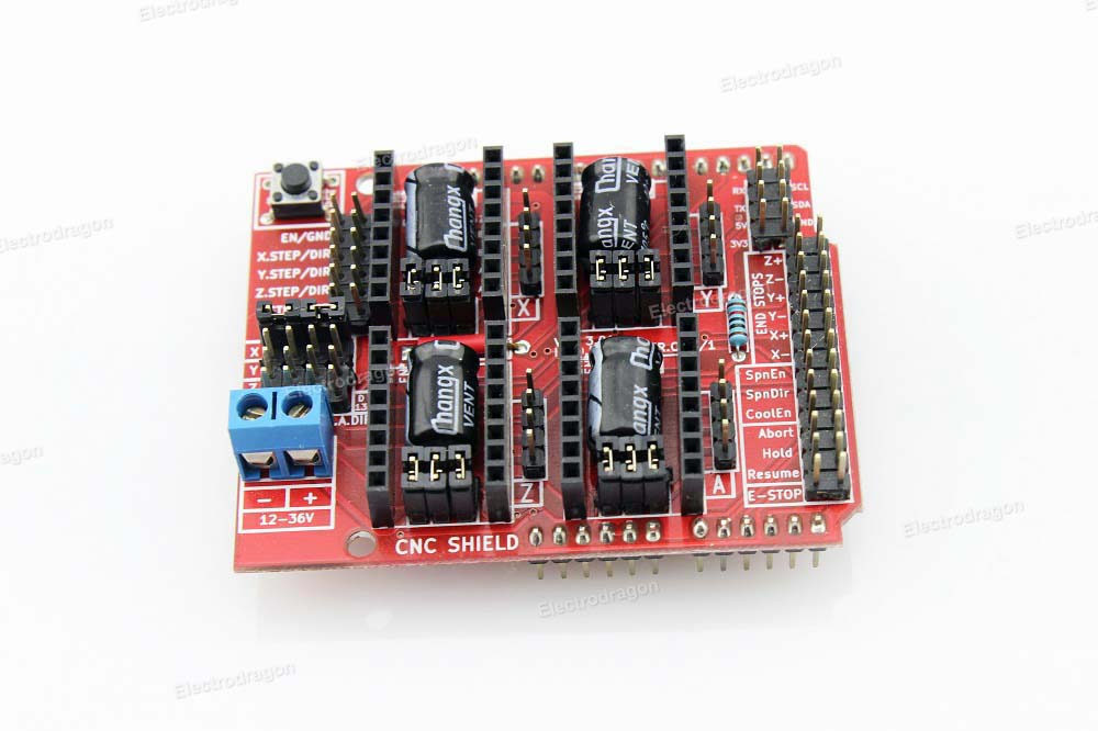 4 Axis Arduino CNC Shield V3 - Art of Circuits