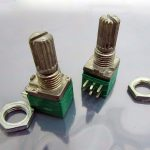 Potentiometer (for Amplifier, Speaker, 10K) 01